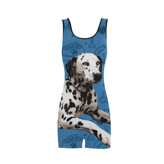 Dalmatian Dog Classic One Piece Swimwear - TeeAmazing