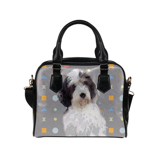 Petit Basset Griffon Vendéen Shoulder Handbag (Model 1634) - TeeAmazing