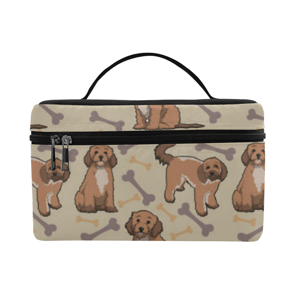 Cockapoo Cosmetic Bag/Large - TeeAmazing