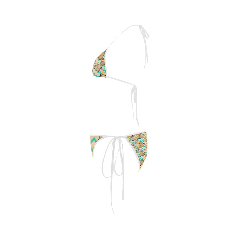 Briard Custom Bikini Swimsuit - TeeAmazing