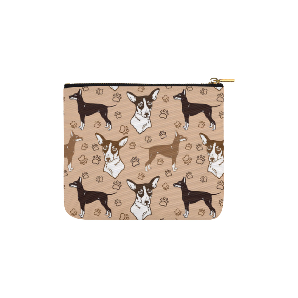 Manchester Terrier Carry-All Pouch 6x5 - TeeAmazing