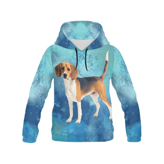 Beagle V2 All Over Print Hoodie for Women - TeeAmazing