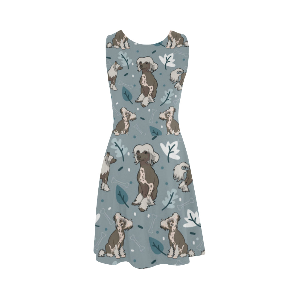 Chinese Crested Atalanta Sundress - TeeAmazing