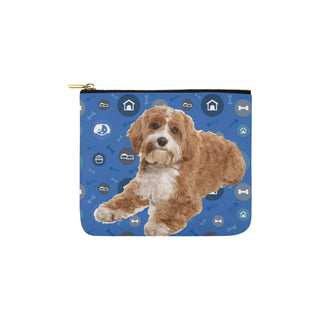 Cavapoo Dog Carry-All Pouch 6''x5'' - TeeAmazing