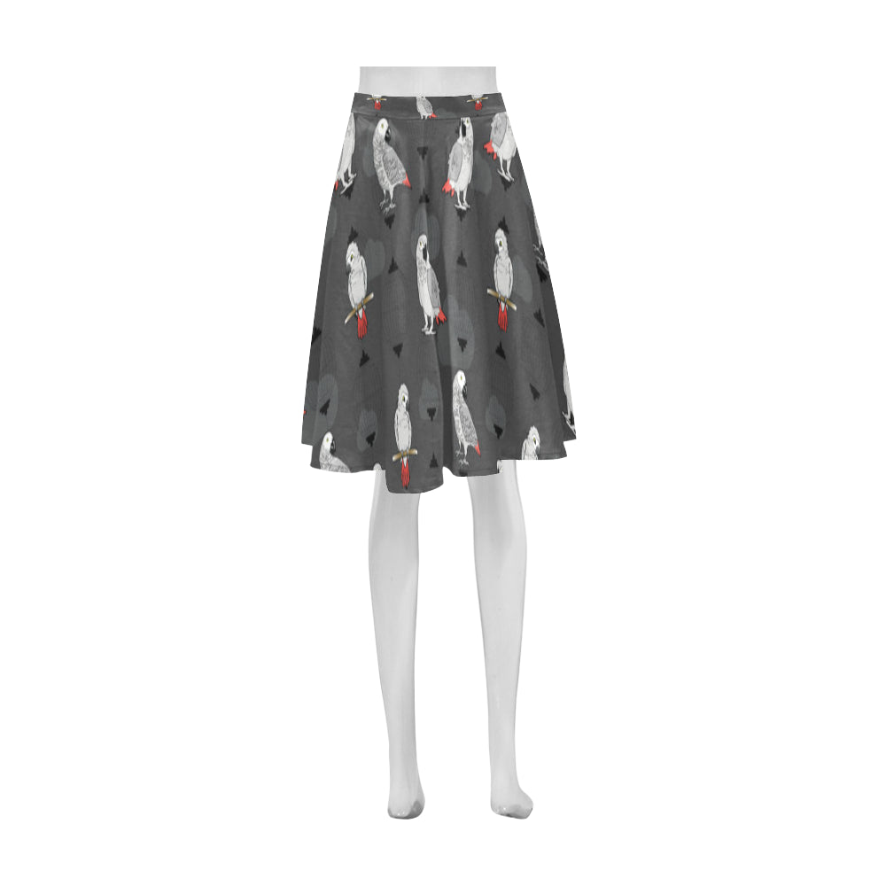 African Greys Athena Women's Short Skirt - TeeAmazing