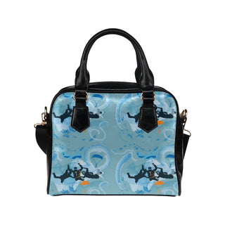 Sky Diving Shoulder Handbag - TeeAmazing