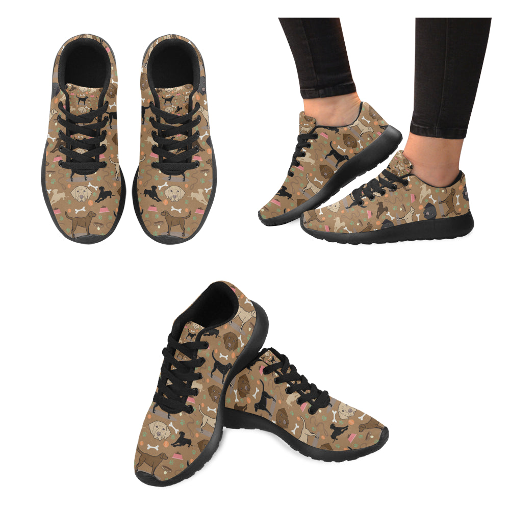 Labrador 3 Colors Black Sneakers for Women - TeeAmazing
