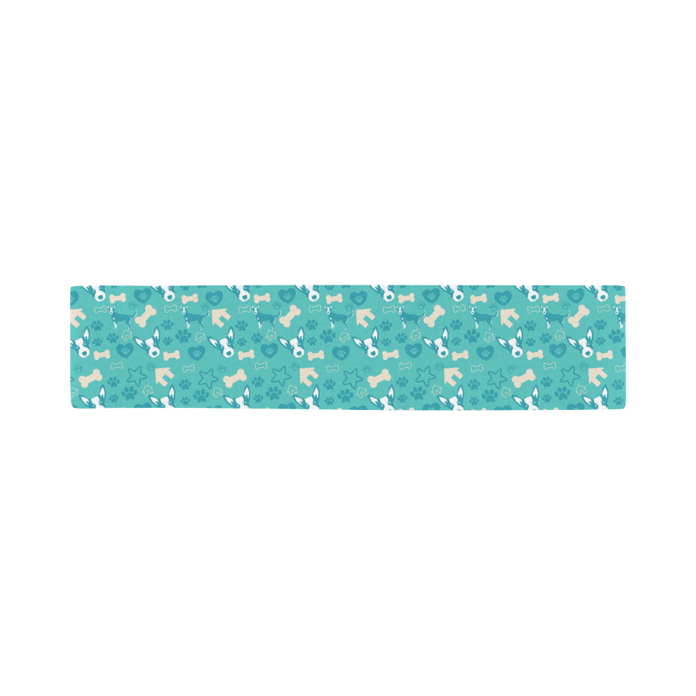 Australian Cattle Dog Pattern Sports Scarves 14x62 - TeeAmazing