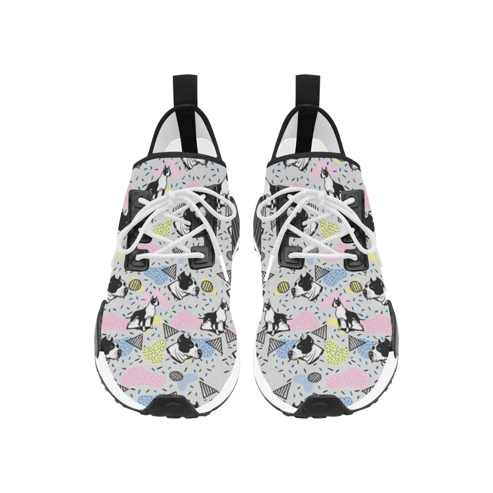American Staffordshire Terrier Pattern Women's Draco Running Shoes - TeeAmazing