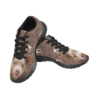 Australian Kelpie Dog Black Sneakers for Men - TeeAmazing
