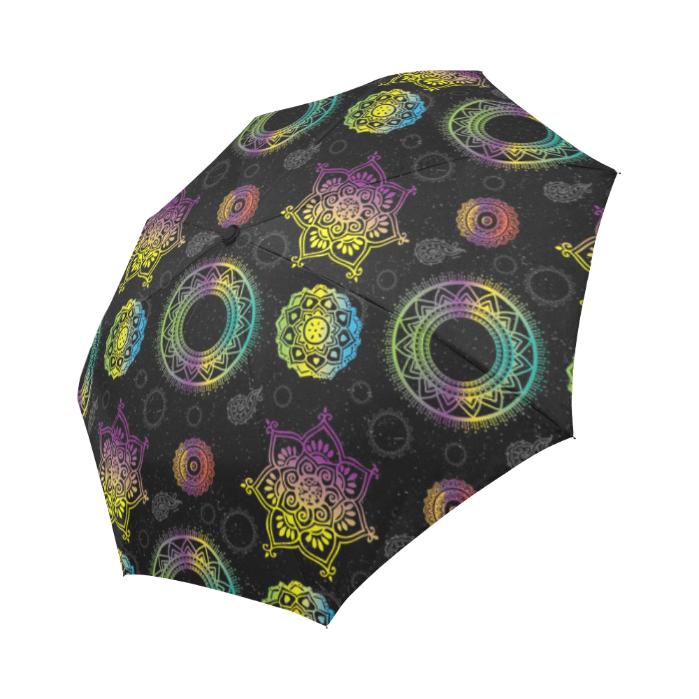 Chakra Auto-Foldable Umbrella - TeeAmazing