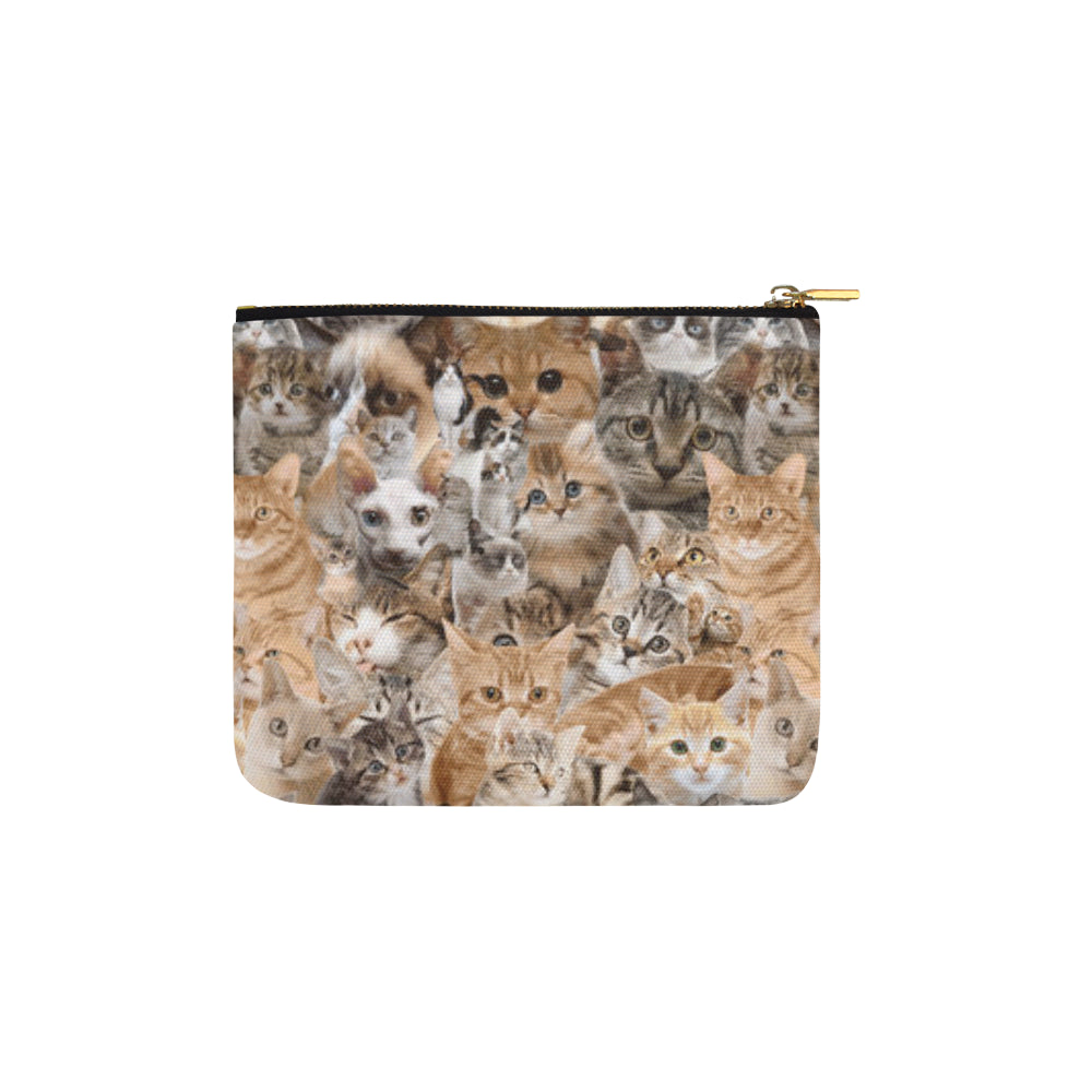 Cat Carry-All Pouch 6x5 - TeeAmazing