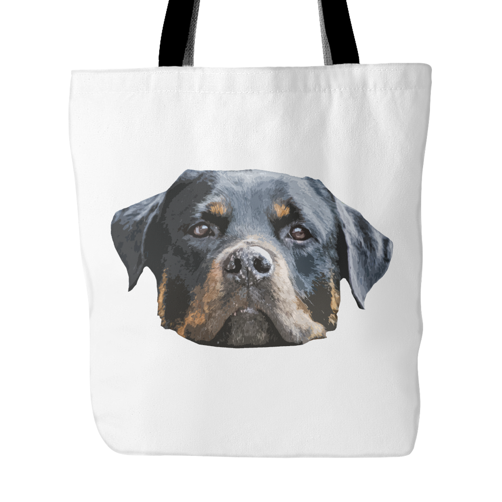 Rottweiler Dog Tote Bags - Rottweiler Bags - TeeAmazing