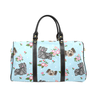 Skye Terrier Flower New Waterproof Travel Bag/Large - TeeAmazing