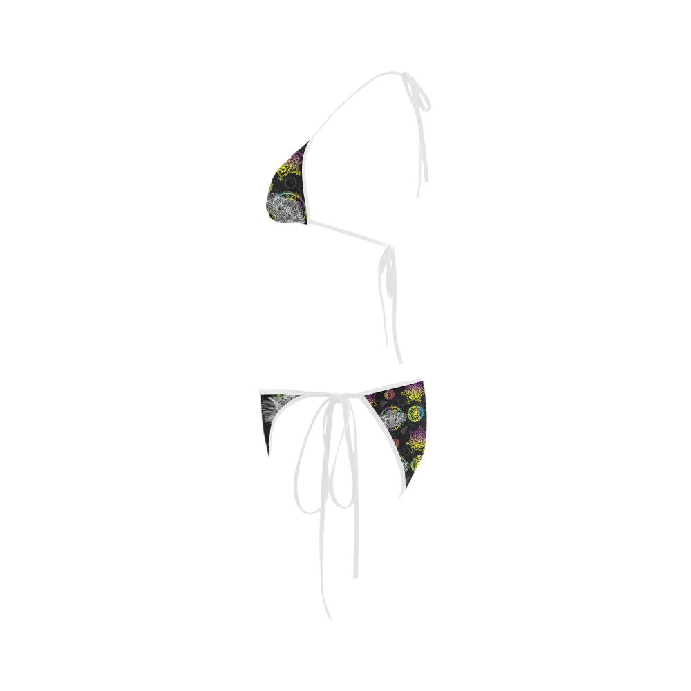 Lotus and Mandalas Custom Bikini Swimsuit - TeeAmazing