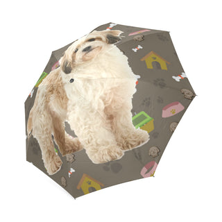 Cavachon Dog Foldable Umbrella - TeeAmazing