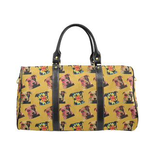 Pit Bull Pop Art Pattern No.2 New Waterproof Travel Bag/Small - TeeAmazing
