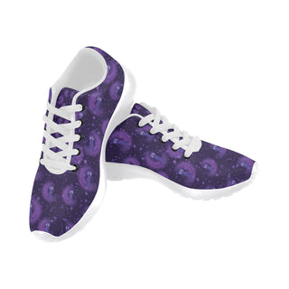 Luna Pattern White Sneakers Size 13-15 for Men - TeeAmazing