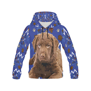 Chesapeake Bay Retriever Dog All Over Print Hoodie for Men (USA Size) (Model H13) - TeeAmazing