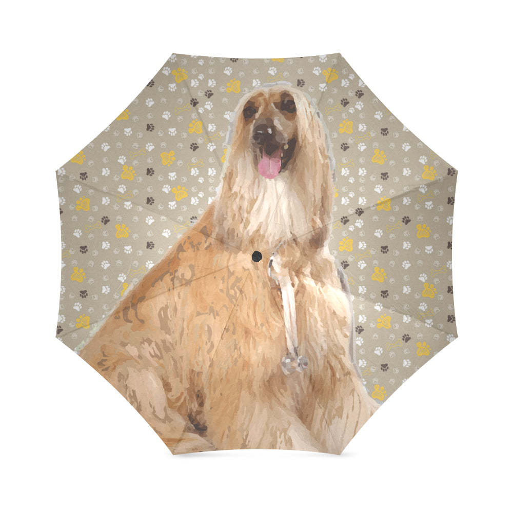 Afghan Hound Foldable Umbrella - TeeAmazing
