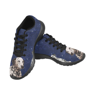 Dalmatian Lover Black Sneakers Size 13-15 for Men - TeeAmazing