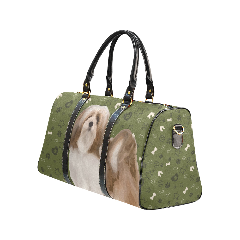 Lhasa Apso Dog New Waterproof Travel Bag/Small - TeeAmazing