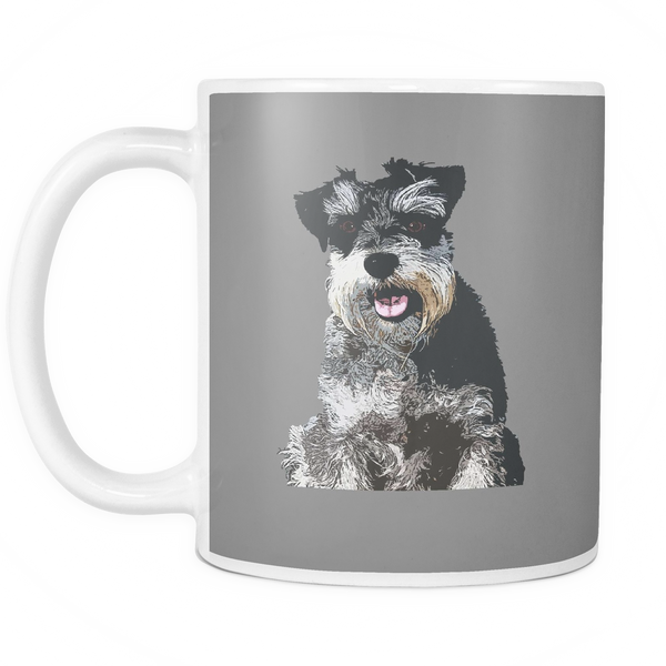 Miniature Schnauzer Dog Mugs & Coffee Cups - Miniature Schnauzer Coffee Mugs - TeeAmazing - 4