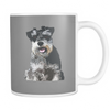 Miniature Schnauzer Dog Mugs & Coffee Cups - Miniature Schnauzer Coffee Mugs - TeeAmazing