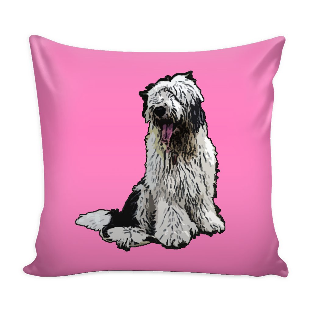 Old English Sheepdog Dog Pillow Cover - Old English Sheepdog Accessories - TeeAmazing - 4