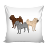 Shar Pei Dog Pillow Cover - Shar Pei Accessories - TeeAmazing - 1