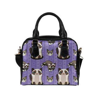 Snowshoe Cat Shoulder Handbag - TeeAmazing