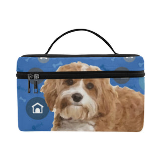 Cavapoo Dog Cosmetic Bag/Large - TeeAmazing