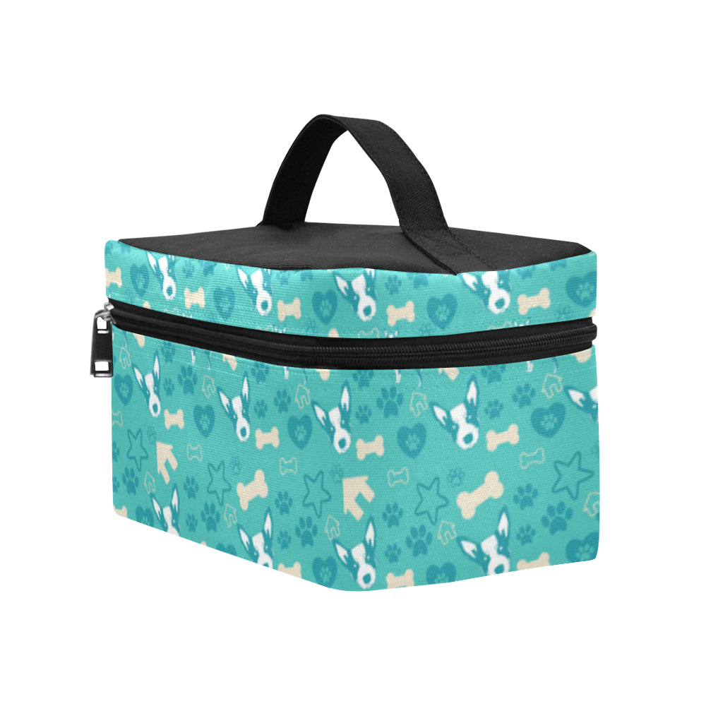 Australian Cattle Dog Pattern Cosmetic Bag/Large - TeeAmazing