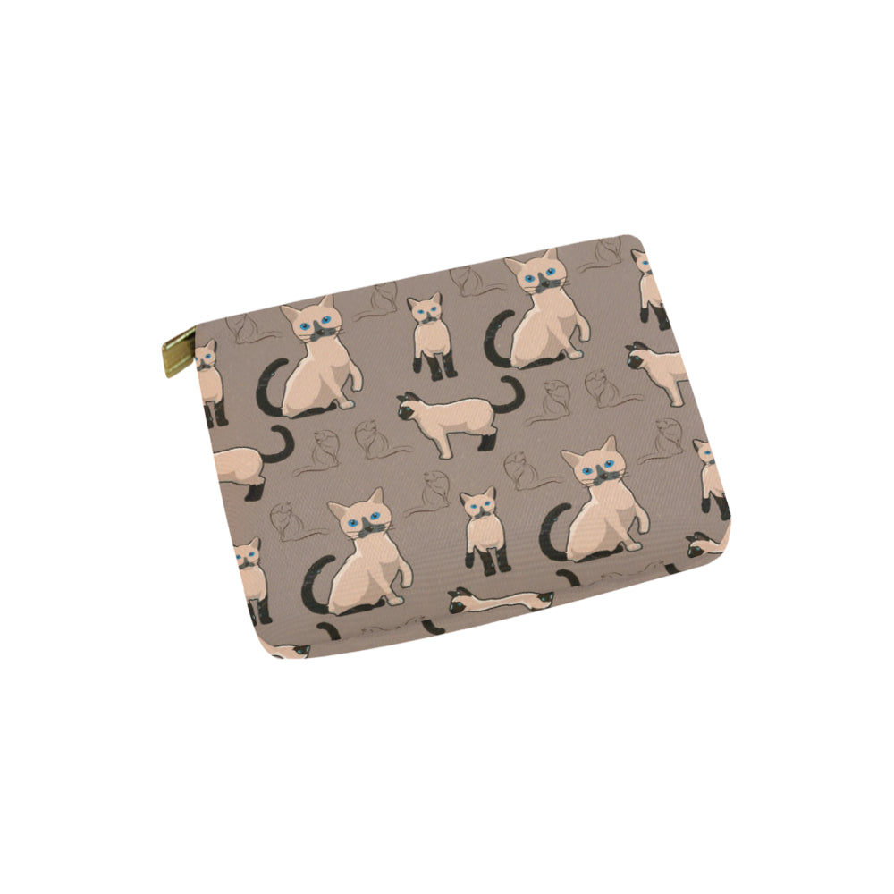 Tonkinese Cat Carry-All Pouch 6x5 - TeeAmazing