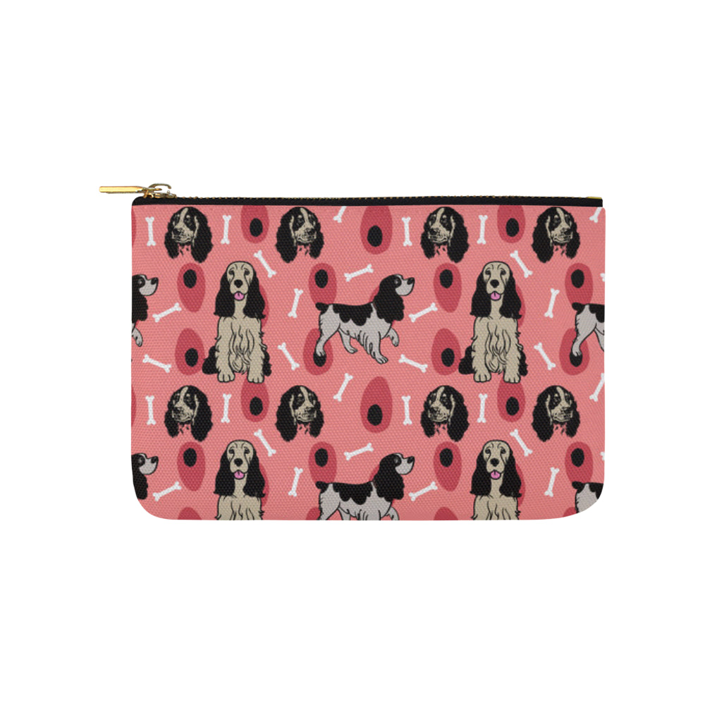English Springer Spaniels Carry-All Pouch 9.5x6 - TeeAmazing