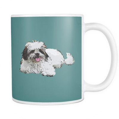 Lhasa Apso Dog Mugs & Coffee Cups - Lhasa Apso Coffee Mugs - TeeAmazing - 5