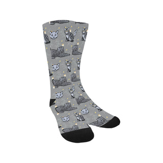 Highlander Cat Trouser Socks - TeeAmazing