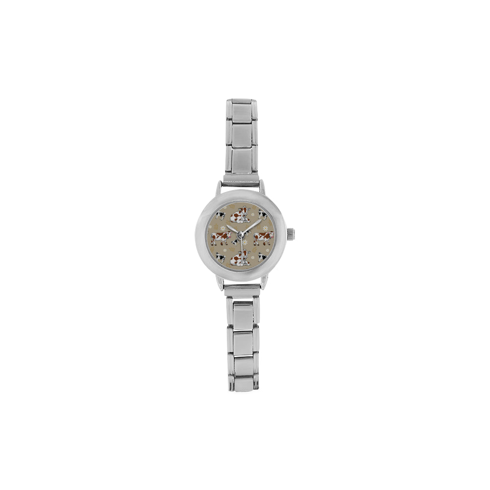 Cow Pattern Women's Italian Charm Watch - TeeAmazing