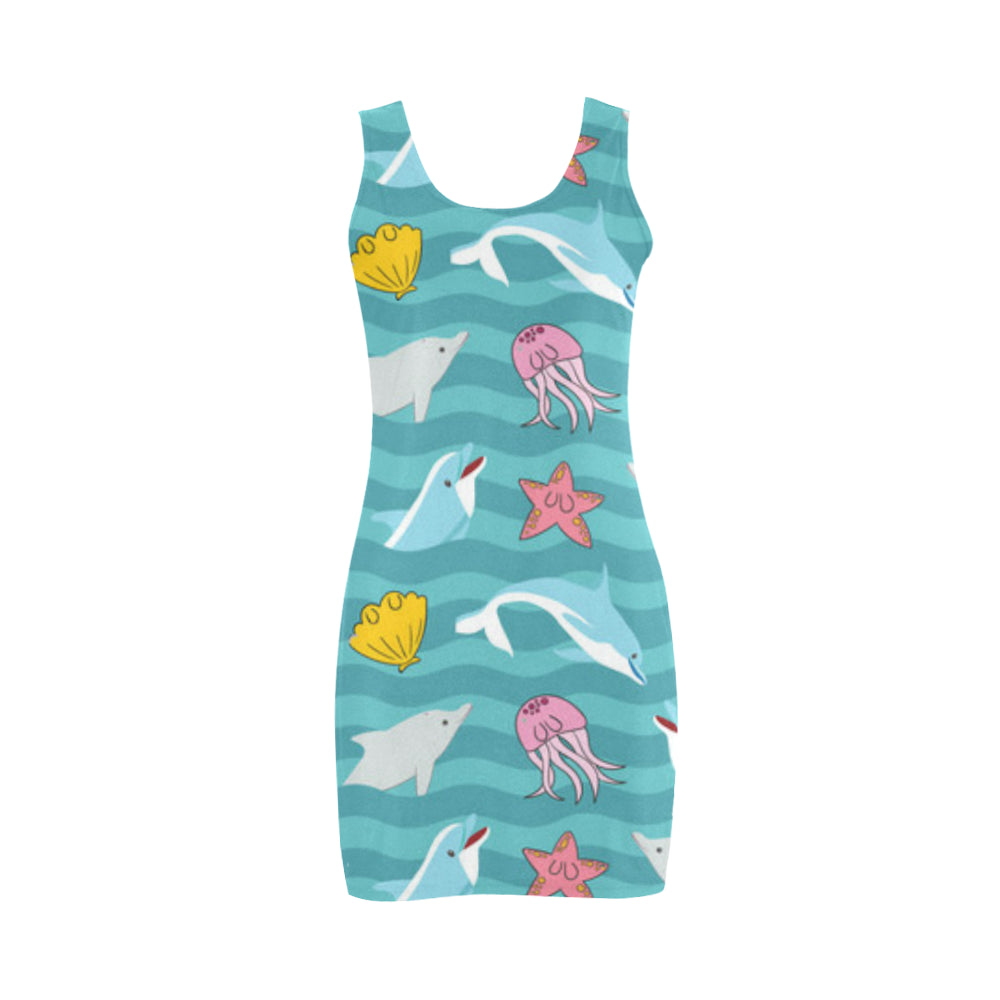 Dolphin Medea Vest Dress - TeeAmazing