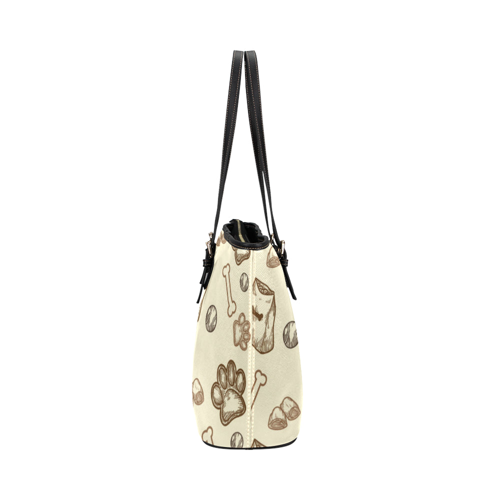 Airedale Terrier Leather Tote Bag/Small - TeeAmazing