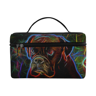 Boxer Glow Design 3 Cosmetic Bag/Large - TeeAmazing
