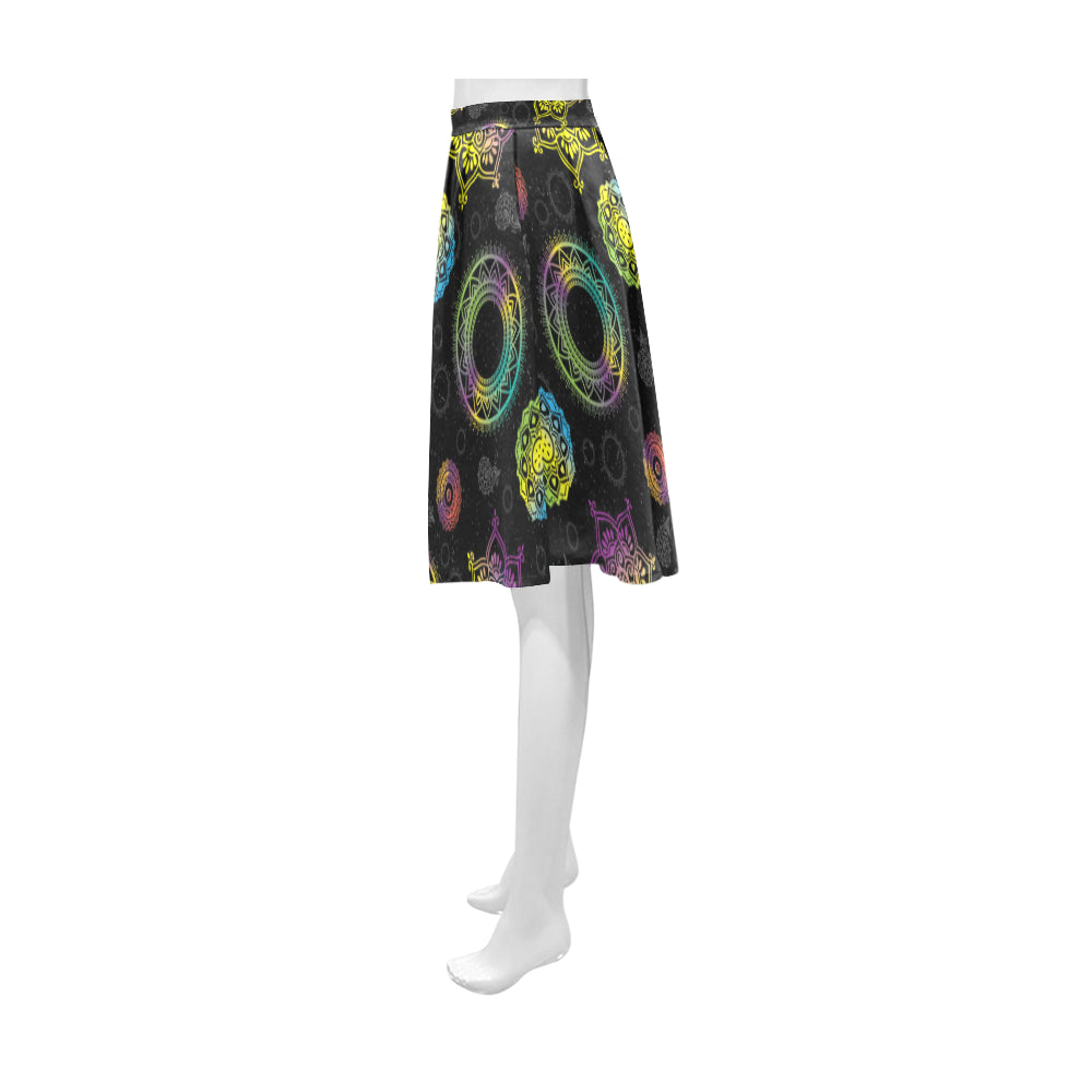 Chakra Athena Women's Short Skirt - TeeAmazing