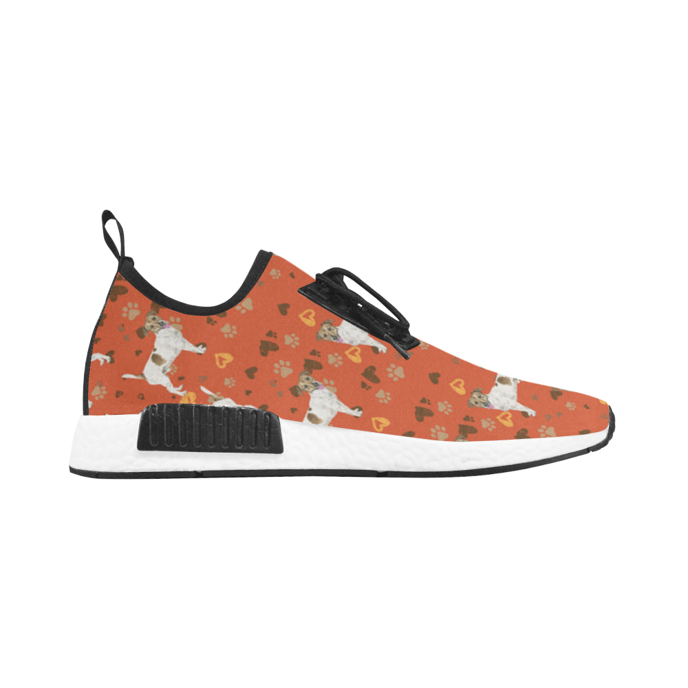 Jack Russell Terrier Water Colour Pattern No.1 Men's Draco Running Shoes - TeeAmazing
