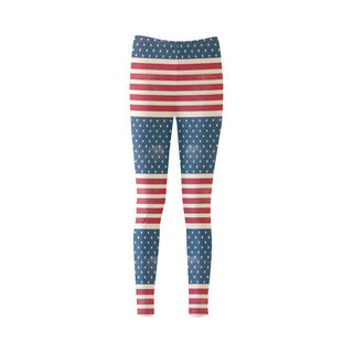 4th July V2 Cassandra Women's Leggings - TeeAmazing