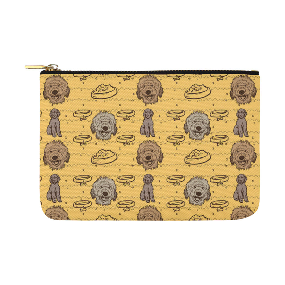 Australian Goldendoodle Carry-All Pouch 12.5x8.5 - TeeAmazing