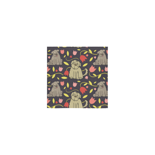 "Tibetan Terrier Flower Square Towel 13""x13"" - TeeAmazing"