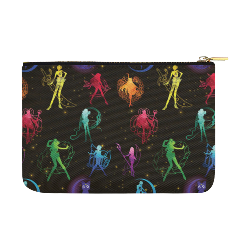 All Sailor Soldiers Carry-All Pouch 12.5x8.5 - TeeAmazing