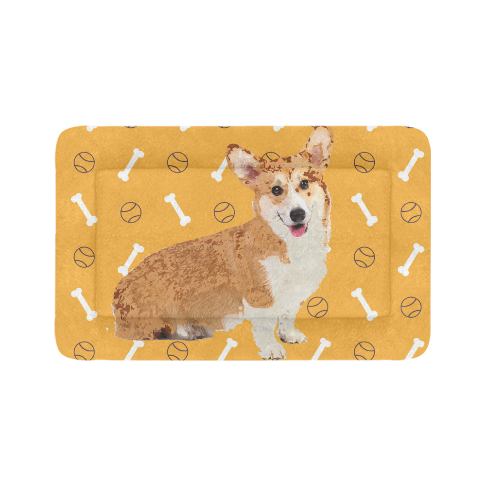"Corgi Dog Beds 48""x30"" - TeeAmazing"