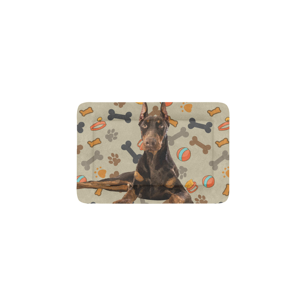 "Doberman Dog Dog Beds 18""x12"" - TeeAmazing"