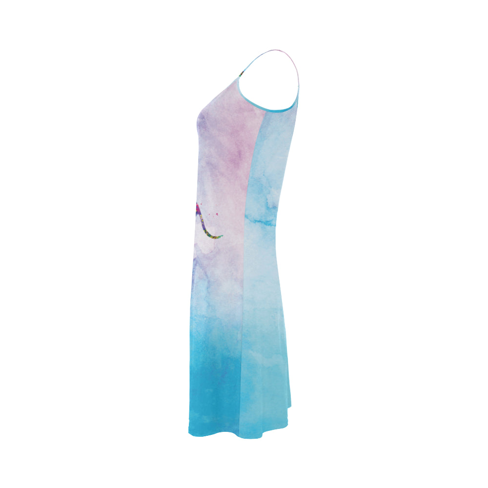 Greyhound Running No.1 Alcestis Slip Dress - TeeAmazing